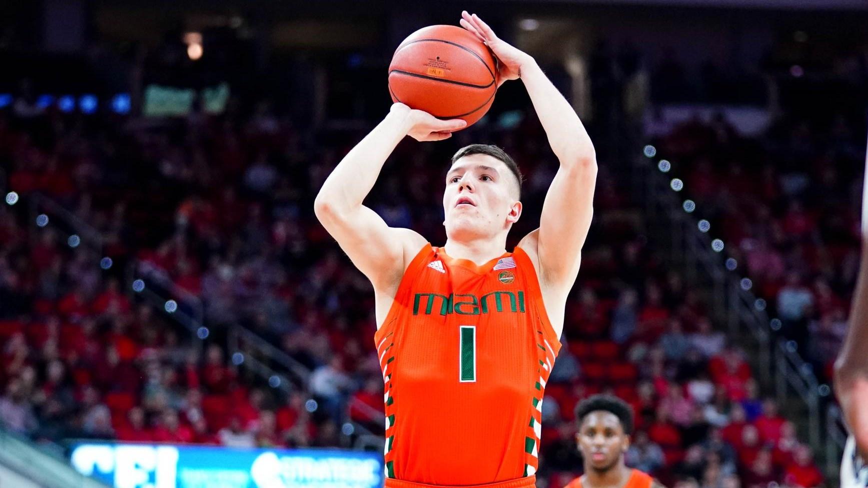 Aussies Abroad: Dejan Vasiljevic (Miami Hurricanes) - Basketball Draft  Central