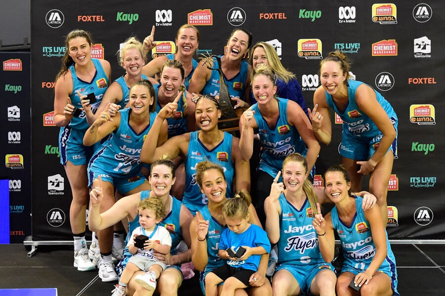 The Southside Flyers of the WNBL